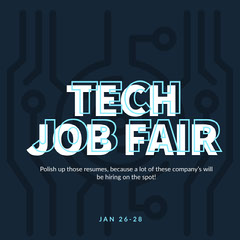 TECH JOB FAIR Tech