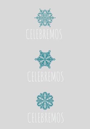 CELEBREMOS Tarjeta de Navidad