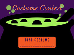 Witches Crew Halloween Party costume card Halloween Costume Contest