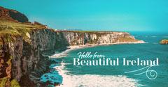 Blue Ocean Irish Cliffs Instagram Landscape Ocean