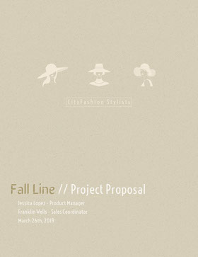 Beige Fashion Designer Business Proposal Forslag