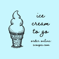 ice cream instagram Ice Cream Social Flyer