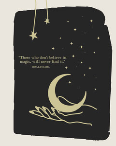 Roald Dahl Quote Instagram Portrait Stars
