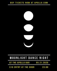 Moonlight Dance Night Instagram Portrait Dance Flyers