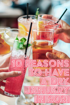 Pink Dry January Pinterest Post Cocktails