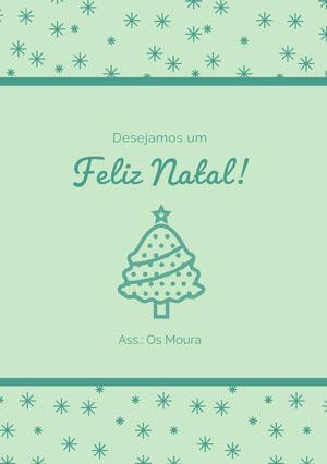 Feliz Natal! Cartão de Natal