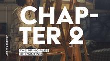White Typography, Principles of Painting, Presentation Slide 101 Templates - Aspiring Communicator
