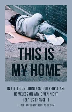homeless shelter awareness poster Awareness