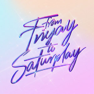 Retro Weekend Quote Typography Instagram Square Typography Poster