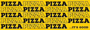 playful pizza parlor website banner Banner for Website