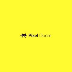 Pixel Doom Purple