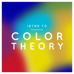 Colorful Rainbow Gradient Intro To Color Theory Class Cover