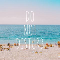DO NOT DISTURB Beach
