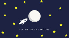 Fly me to the moon Moon
