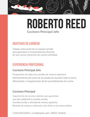 Roberto Reed Currículum vitae