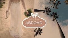White and Beige Wedding Blog Dress