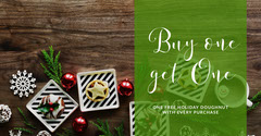 Green, Warm Toned Bakery Bogo Offer Facebook Banner Bogo