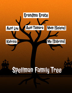 Spooky Family Tree  Trees