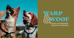 Light Toned Dog Accessories Ad Facebook Banner Dog