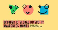 October is Global Diversity Awareness Month Awareness