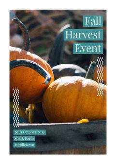 Fall Harvest Event Autumn