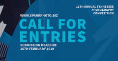 Blue and White Photography Competition Promotion Contest