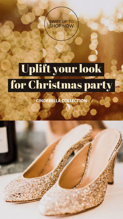 Uplift your look <BR>for Christmas party Fashion