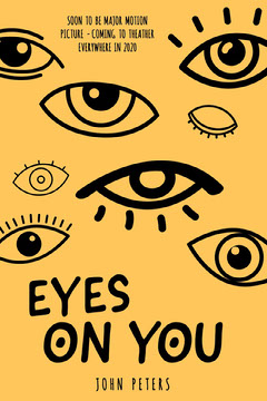 Eyes on you bookcover  Yellow
