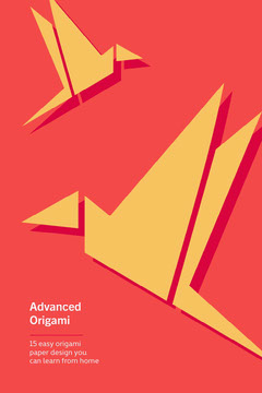 Yellow and Red Advanced Origami Pinterest  Planes