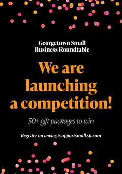 Colorful Confetti Competition Launch Flyer  Giveaway