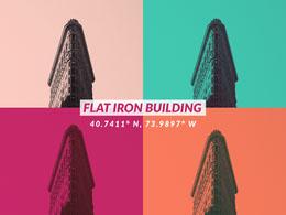 Flat Iron Building Photo Collage