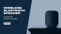 wireless speaker sale twitter  Speaker