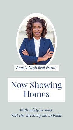 Framed Real Estate Agent Headshot Feature House For Sale Flyer