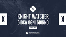 knight watcher twitch banner  Banner per Twitch