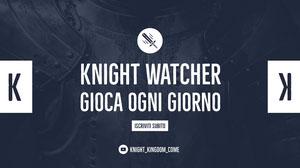 knight watcher twitch banner  Banner