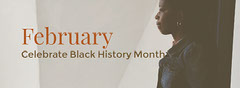 Grey and Oragne Black History Month Twitter Celebration