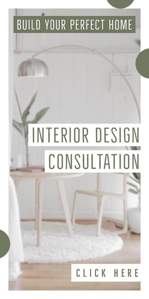 INTERIOR DESIGN CONSULTATION Advertisement Flyer