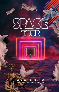 space tour poster Cat