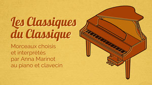 Yellow and Brown Piano Classical Music Youtube Channel Art Bannière