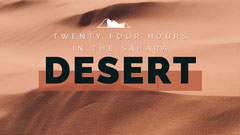 Brown and Black Desert Youtube Thumbnail Desert