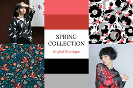 Spring Collection Fashion Mood Board Photo Collage
