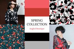 Spring Collection Fashion Mood Board Colagem de fotos