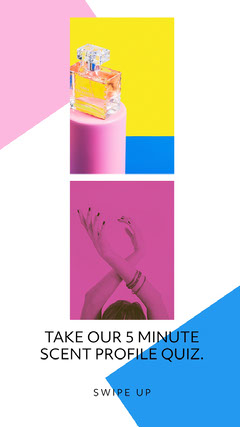 Colorful, Flashy Quiz Ad Instagram Story Quiz Night Poster
