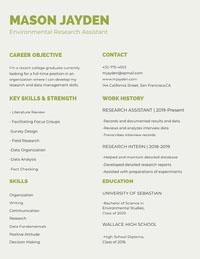 MASON JAYDEN Resume for Freshers