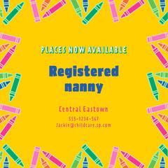 Yellow Nanny Instagram Square  Kids