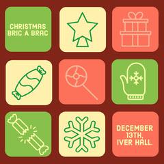 Christmas brick a brac Instagram square Fairs