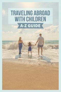 Blue & Sand Family at the Beach Pinterest Post Kids