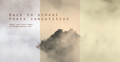 Back to School Photo Competition Facebook Post Graphic  Contest