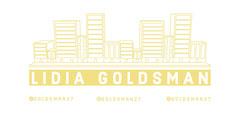 Yellow Businesswoman LinkedIn Banner with City Skyline City