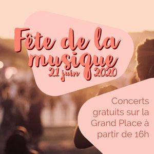 Gold and Pink Free Music Festival Instagram Square  Affiches de festival de musique